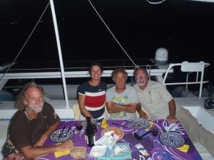 Christian, Marlène, Joe et Jocelyn
